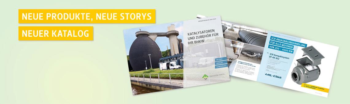 Der neue Emission Parts-Katalog